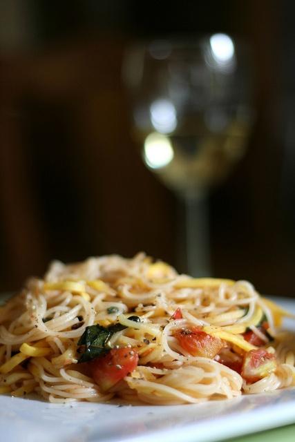 Italian food satisfies my stomach !
