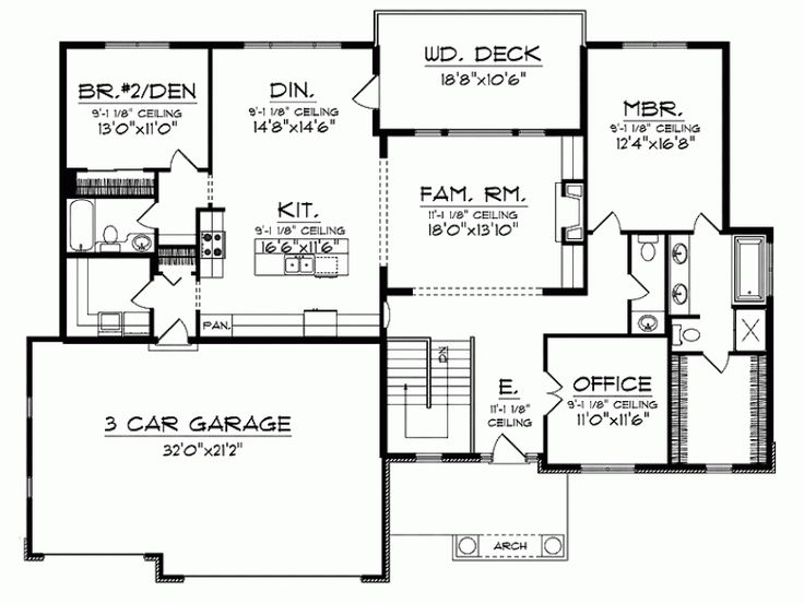 598 Best House Plans Images On Pinterest House Floor