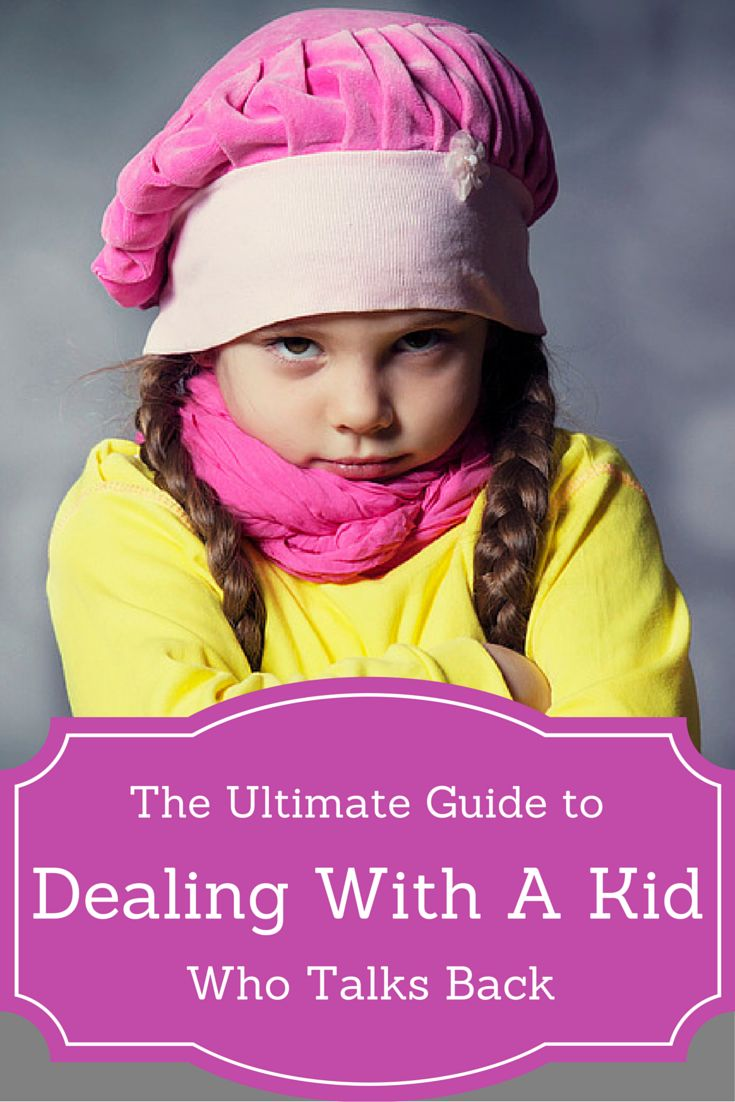 "Parents handle a lot of child discipline issues, but one that stands out amongst them all is that of putting up with a child who talks back to them. Back talk can happen at just about any age, and may even begin as early as when children first begins to talk – the moment your child learns how to say his first ""NO!"". Read on to learn more!"