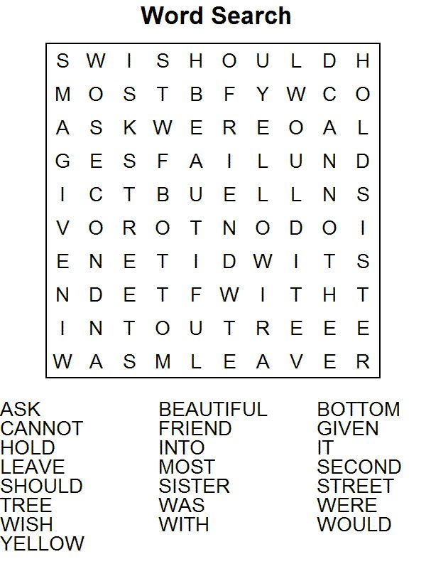 Word Puzzle Worksheets Easy First Grade Words Word Puzzles Word Puzzles For Kids Free first grade spelling worksheets