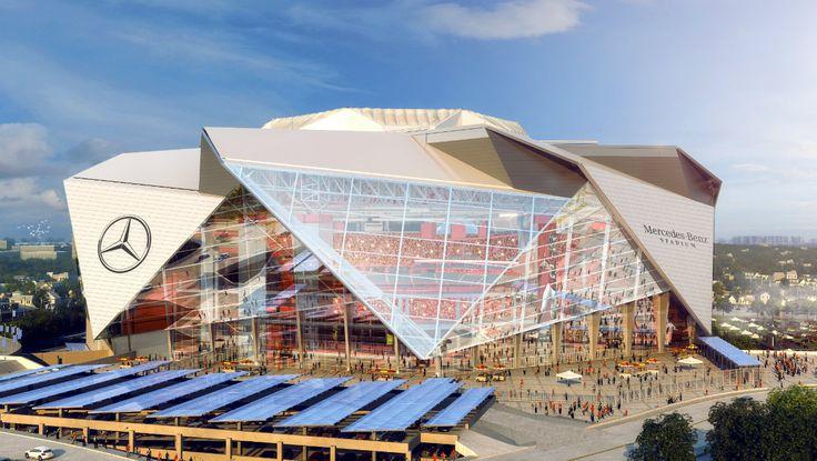 Mercedes-Benz Stadium, la nueva casa de los Halcones de Atlanta - Autocosmos.com