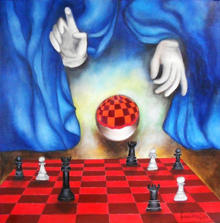 ... ci sentiamo padroni della nostra vita ... unici artefici del nostro successo .... ma come un elegantissimo prestigiatore il destino fa il suo gioco .... Luana Celli