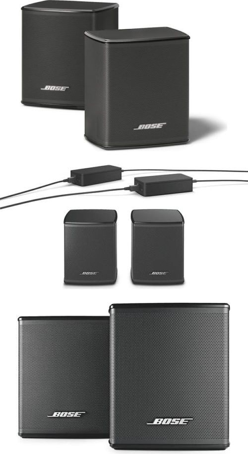 Home Speakers and Subwoofers: Bose Virtually Invisible 300 Wireless Surround Speakers -> BUY IT NOW ONLY: $269.94 on eBay!