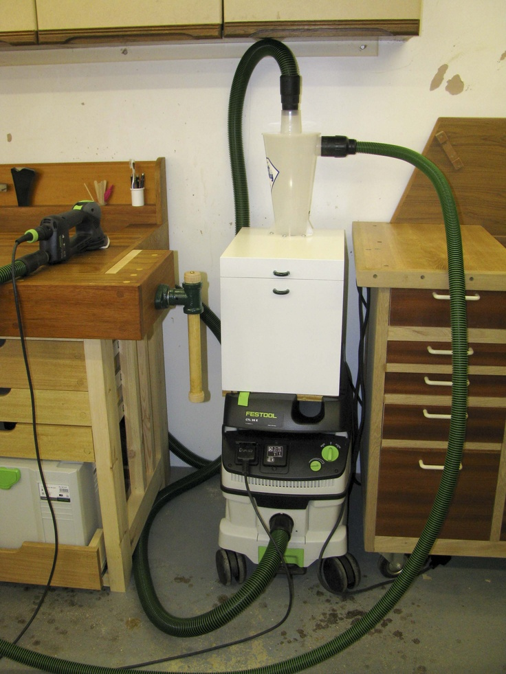 Best Cyclone For Your Festool Vac Workshop Ideas