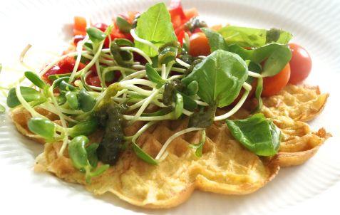 Omeletvafler