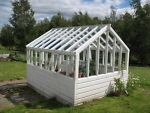 How to Build a Wooden Greenhouse Frame