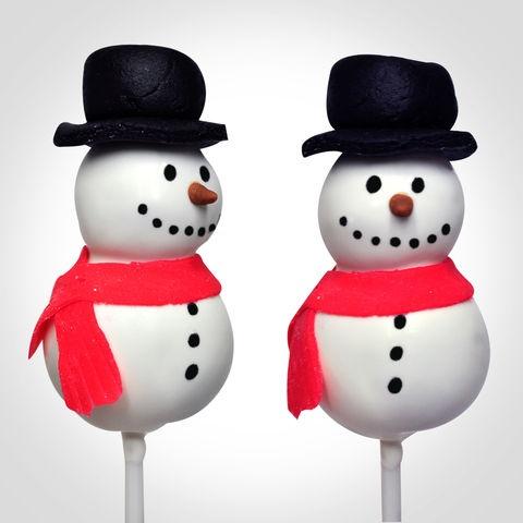 Christmas cakepops Snowman