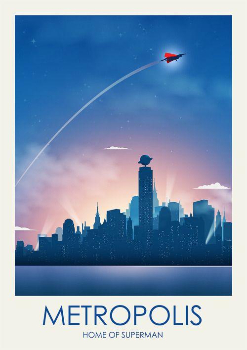 Metropolis, Home of Superman - Ciaran Monaghan
