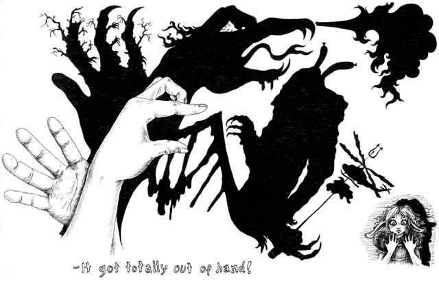 Juli Nord The Hands - 2005. Sketch, part 2.
