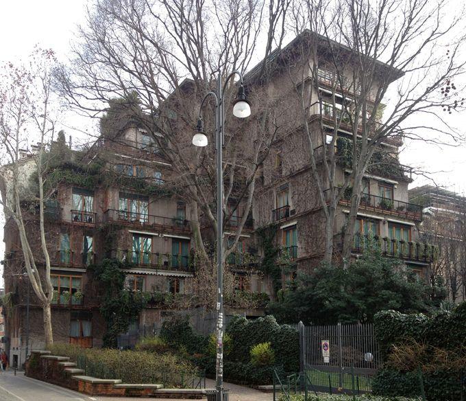Residential complex - Brera-Garibaldi, historical town, modern and contemporary art - itineraries - Ordine degli architetti, P.P.C della pro...