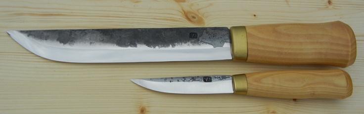 Antti Mäkinen Large Double Set Leuku/Puukko: Antti Mäkinen, Finnish Knife, Knife Inspiration, Knife Design, Set Leuku Puukko, Large Double, Lumberjack Living, Camping Idea S