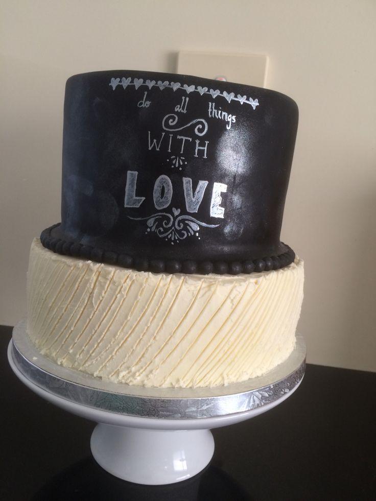 Jemma and Jakes wedding cake 28 feb 2015