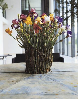 Flower bouquet by danish flowerartist Tage Andersen.