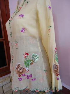 Antique Peranakan 土生华人文物: Kebaya Encim Sold