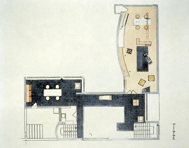 Villa La Roche   ~Jeanneret (Le Corbusier)  1923