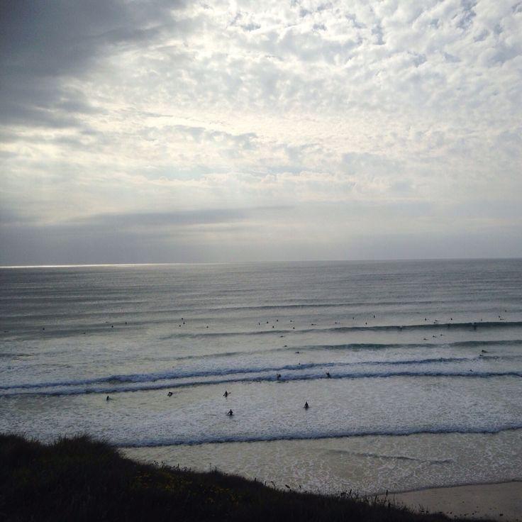 Dusk surf #cornwall #surf