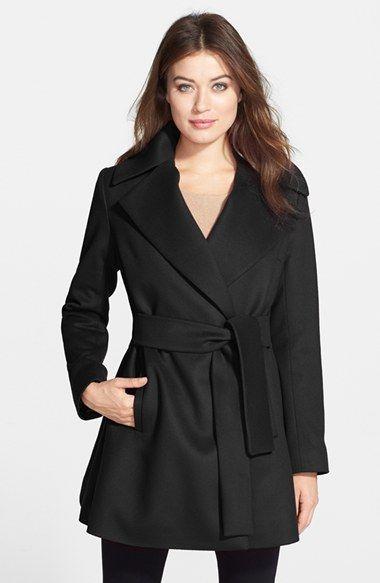 Trina Turk Cashmere Wrap Coat: