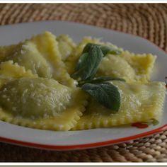 Ai fornelli con la celiachia: Ravioli con ricotta e spinaci
