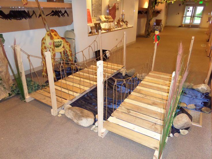 Jungle Safari VBS - every jungle has to have a rope bridge.