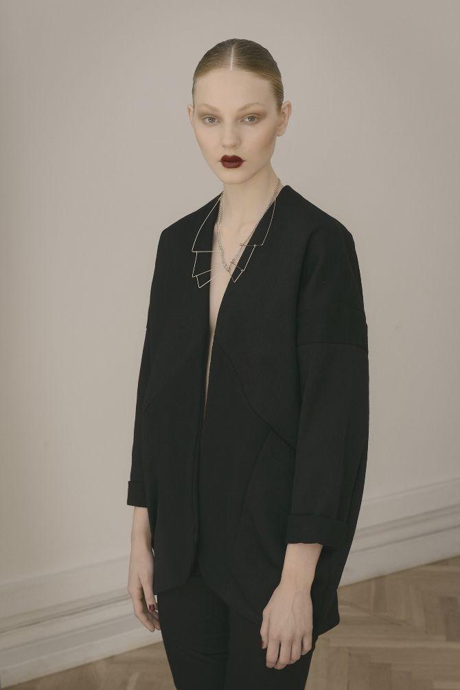 Design: Maria Carstens // Wool oversize blazer