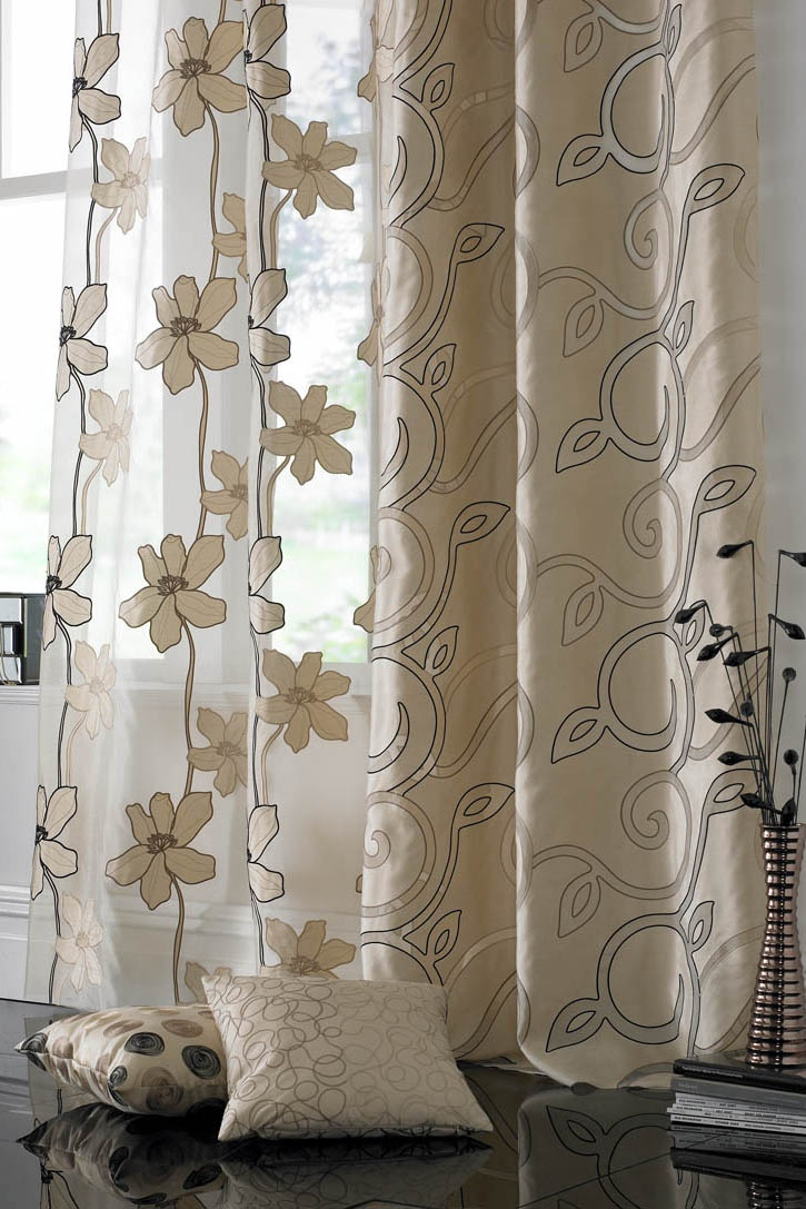 Windsor teal eyelet curtains harry corry limited - Curtain