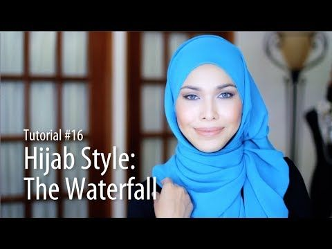 [Adlina Anis] Hijab Tutorial 16   The Waterfall
