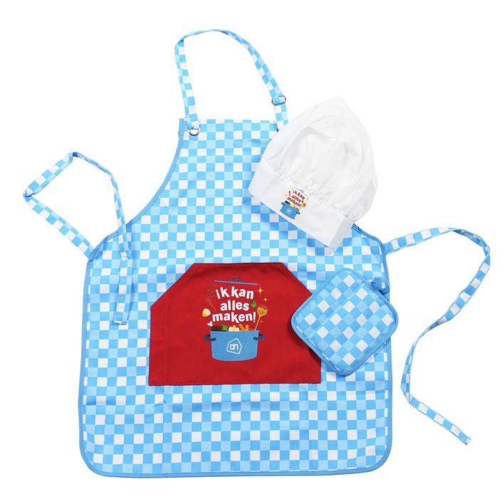 Mini koks-outfit, voor de mini kok #kokenmetpapa #barbecue #vakantie