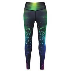 Tikiboo Space Trip Leggings £35.99 #Activewear #Gymwear #FitnessLeggings #Leggings #Tikiboo #Running #Yoga #Galaxy #GalaxyPrint
