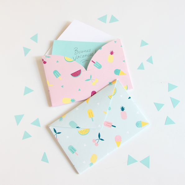 DIY envelope by Zü