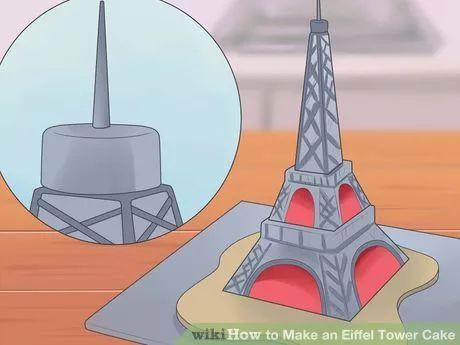 Image titled Make an Eiffel Tower Cake Step 11