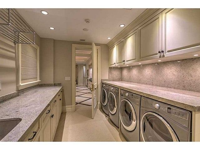 1000 images about squeaky clean laundry rooms on for Large family laundry