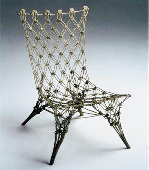 Marcel Wanders Metal Rope Chair