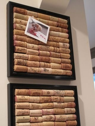 *How To Make A Bulletin Board* Need: corks, picture frame. 1. Glue corks into picture frame. 2. Place anything you want in your bulletin board!!