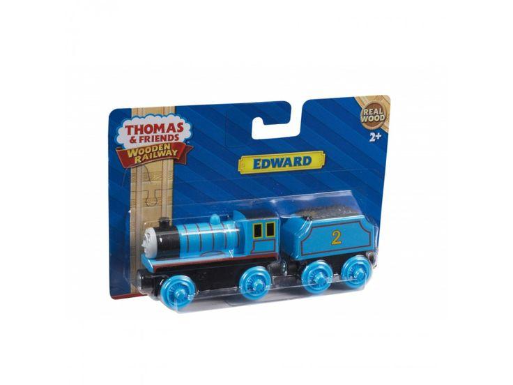 Thomas Wooden Railway Engine Large   Edward