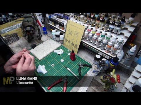 Building the Ma.k LUNA GANS part 3 [The sensor unit, part 2/2] - YouTube