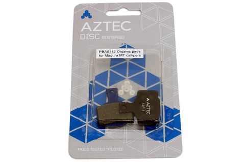 #Aztec Organic Disc Brake Pads for Magura MT #These are the Aztec Organic Disc Brake Pads for Magura MT. These are organic compound replacement disc brake pads for Magura MT Brakes. Designed and developed for UK riding conditions. Race tested pads giving you the latest braking compound technology. Manufactured and tested to the highest standards. Good braking power even in the most adverse weather and trail conditions. Ideal for everyday use on and off. road Stiff and corrosion resistant…