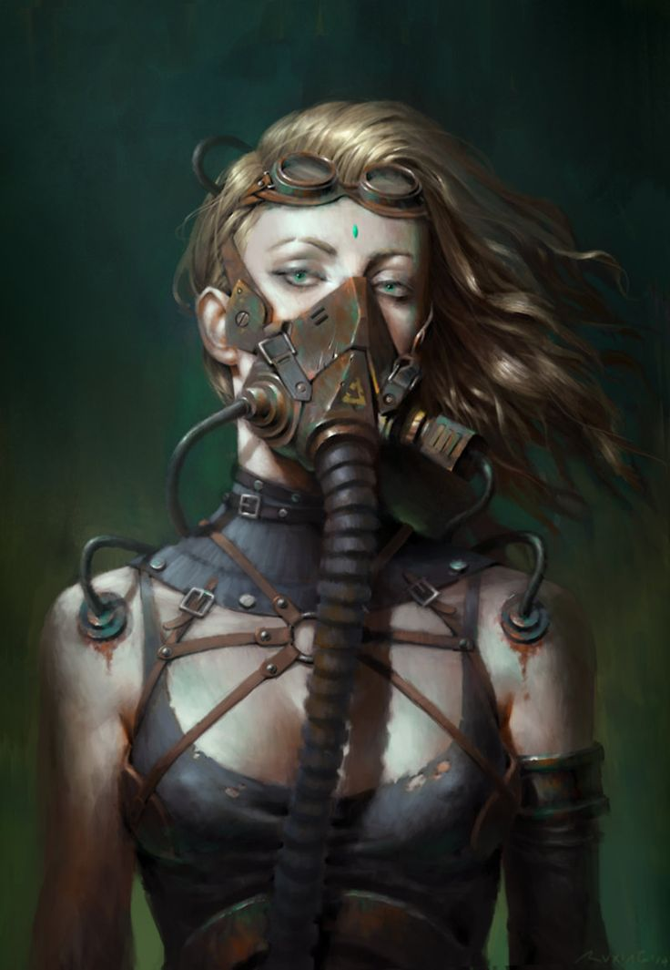 ArtStation - Steam girl, by Ruxing GaoMore Steampunk here.