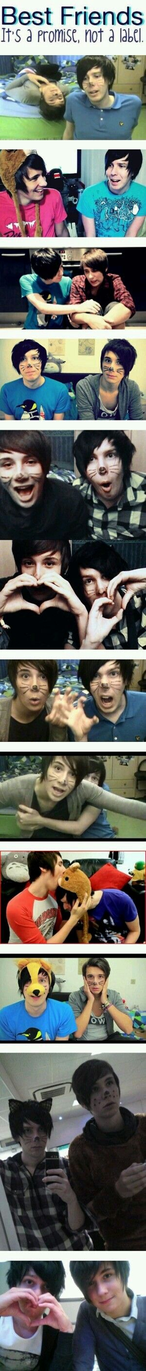 I hate it when people say phan is real i mean they have only had girlfriends so STOP