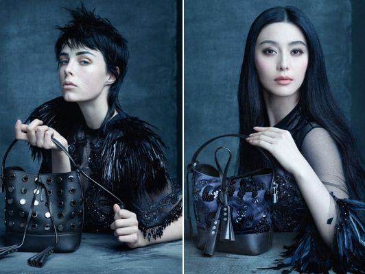 Рекламная кампания сумок Louis Vuitton сезона весна 2014 http://glange.net/blog/308.html