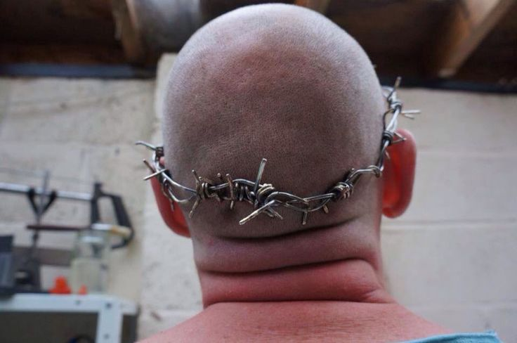 And a must lighter crown, check out my neck sausages. Nice!....