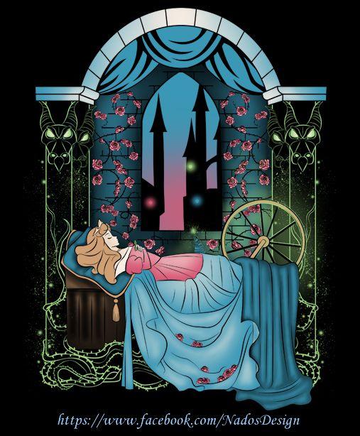 The Sleeping Rose by Anlarel.deviantart.com on @deviantART
