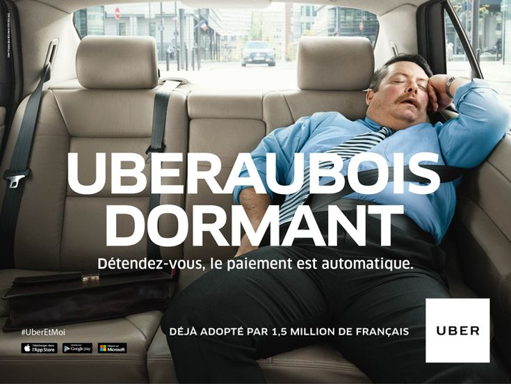 i think it is somewhat funny because it pokes fun at people who fall asleep in users at the same time it shows that the company is reliable and safe enough that you can fall asleep