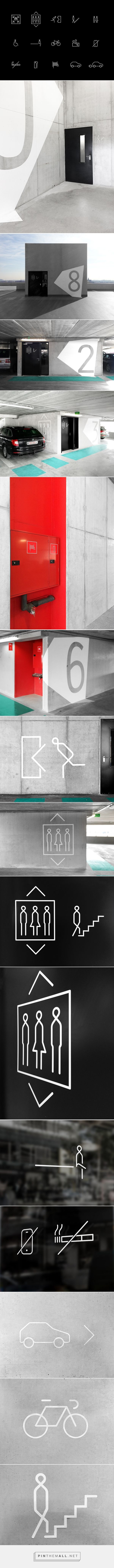 St. Lucas Hospital - signage & way finding on Behance... - a grouped images picture - Pin Them All