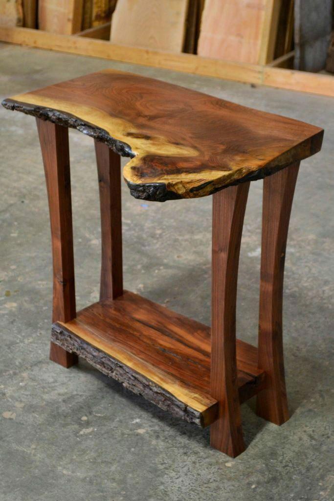 Quick And Easy Wood Projects Liveedgewoodprojects In 2020 Holztisch Design Holzblockmobel Dekor