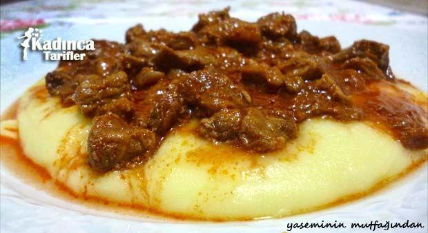 Patates Püreli Et Sote Tarifi nasıl yapılır? Patates Püreli Et Sote Tarifi'nin malzemeleri, resimli anlatımı ve yapılışı için tıklayın. Yazar: Yasemin'in Mutfağından