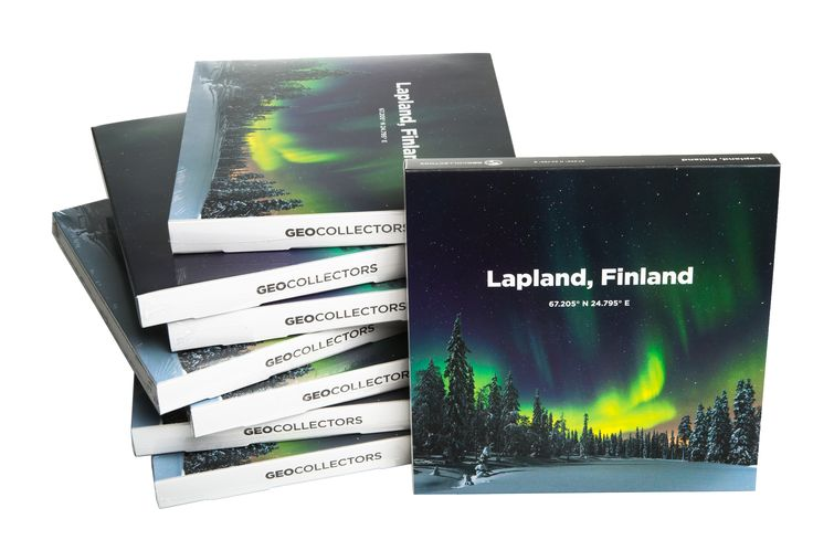 This is how the first #Geocollectors Owner's Package looks like.  #Lapland #NorthernLights #giftidea #gift