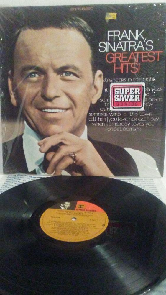 Frank Sinatra  Greatest Hits! - Reprise FSK 2274, 1978 EX/EX has Shrink #VocalBigBandSwing