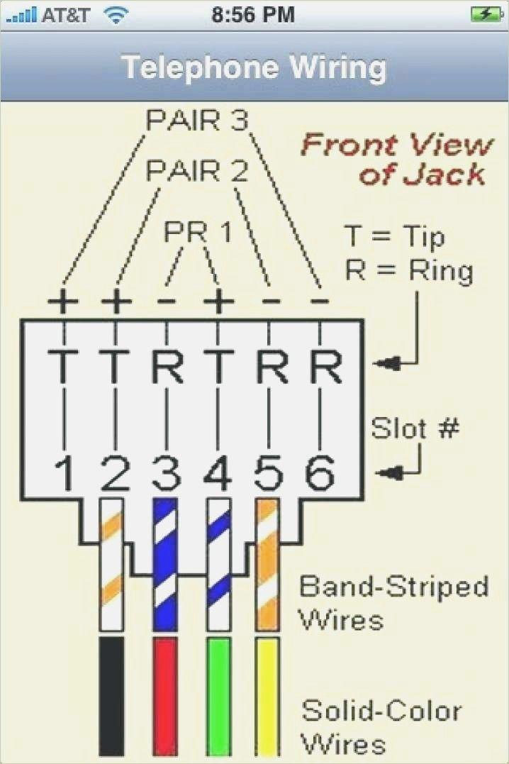 Rj12 Connector Wiring Diagram Rj11 To Rj45 Wiring Diagram Dolgular In 2020 Wire