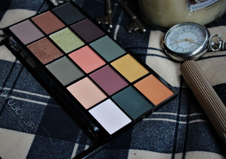 £4 Eyeshadow Palette!! * Makeup revolution palette review.