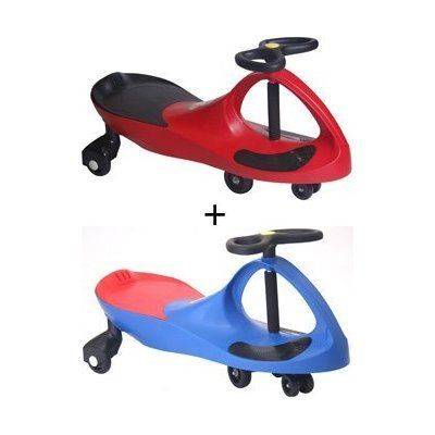 PlasmaCars (1 Red 1 Blue) by PlasmaCar. $116.34. Looking for a children's toy that will delight, fascinate, and invigorate for years to come? PlaSmart's come to the rescue with the perfect toy: The revolutionary new PlasmaCar! It's like magic, but you don't need to be a magician to get it to work. The PlasmaCar is a mechanical marvel that makes use of that most inexhaustible of energy sources, kid-power, by harnessing the natural forces of inertia, centrifugal force, ...